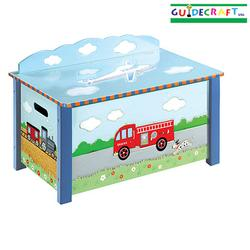 Guidecraft 85304 Transportation Toy Box