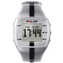 Polar FT4M 90036750 Heart Rate Monitor - Silver/Black