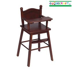 Guidecraft 98105 Doll High Chair - Espresso