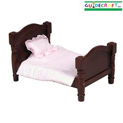 Guidecraft 98111 Doll Bed - Espresso