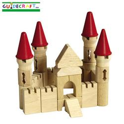 Guidecraft 6103 Table Top Blocks, Castle