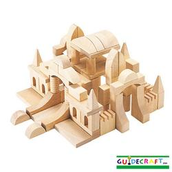 Guidecraft 6100 Tabletop Building Blocks - Starter Set