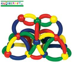 Guidecraft 8104 Magneatos™ Jumbo Curves - 50 pcs.