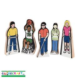 Guidecraft 100 Special Needs Children (Set of 5)