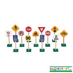 Guidecraft - G309 7inchTraffic Signs (13/set)