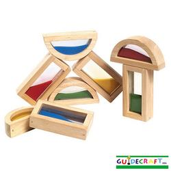 Guidecraft 3014 Rainbow Blocks™  - Sand