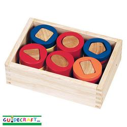Guidecraft 3080 Geometric Counting Cylinders