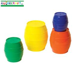 Guidecraft 16900 Stack 'N Sort™ Barrels