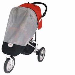 Sashas Kiddies Model BR01 Wrap Around Single Stroller Sun Protector for BumbleRide Rocket, Flyer & Queen B Strollers