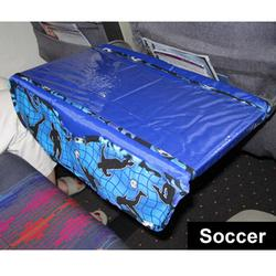 Love To Travel Products The Kids TRAYblecloth and Activity Center - Soccer