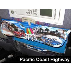 Love To Travel Products The Kids TRAYblecloth and Activity Center - Pacific Coast
