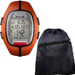 Polar 99041387 RS-300XOG Heart Rate Monitor - Orange with FREE Cinch Bag