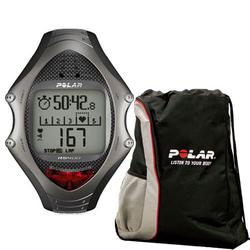 Polar RS-400 99041392 Heart Rate Monitor with FREE Polar Cinch Bag