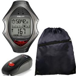 Polar RS-400SD Heart Rate Monitor With S1 Foot Pod  and FREE Cinch Bag