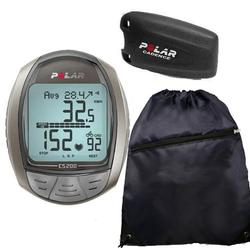 Polar CS200CAD Cycling Computer with Cadence Sensor and FREE Cinch Bag