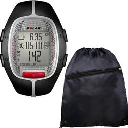 Polar RS-300XBK Heart Rate Monitor - Black with FREE Cinch Bag