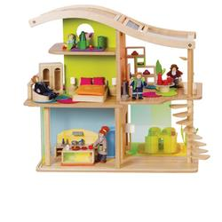 Bamboo Sunshine HP821477 Eco-Friendly Dollhouse