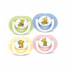 Avent SCF174/20 Bear Newborn Pacifier 0-3 Months (2 pack)