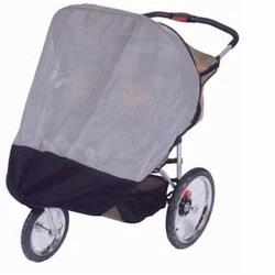 Sashas Kiddies Model IN02 Sun Protector for InStep, Schwinn Safari TT Double Joggers
