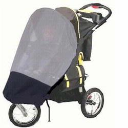 Sashas Kiddies Model GGZ1 Sun Protector for GoGoBabyZ Urban Advantage Single Jogging Strollers