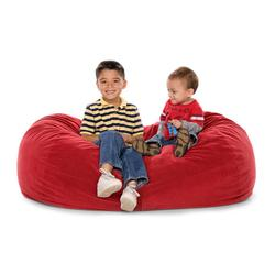 JAXX KIDS 11641276, JAXX LOUNGER JR - MICROSUEDE CHERRY