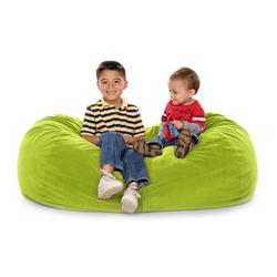 JAXX KIDS 11641278, JAXX LOUNGER JR - MICROSUEDE LIME