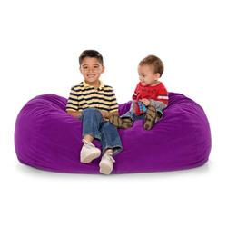 JAXX KIDS 11641280, JAXX LOUNGER JR - MICROSUEDE GRAPE