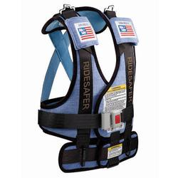 Safe Traffic Systems GD10101BWB Safe Rider Travel Vest Small (30 - 60 lb and 34 - 52 Inches) - Blue