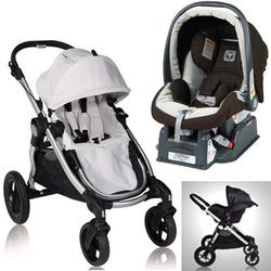Baby Jogger City Select Diamond Stroller With Peg Perego Java Car Seat