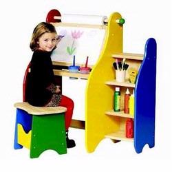 Guidecraft 51080 Art Activity Desk