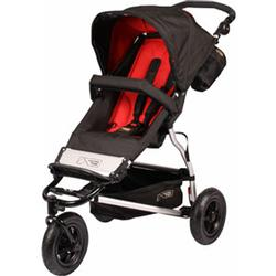 Mountain Buggy Swift Buggy Single Stroller, Chilli