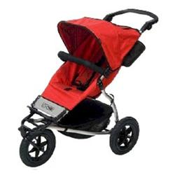 Mountain Buggy Urban Jungle Buggy Single Stroller, Chilli Dot