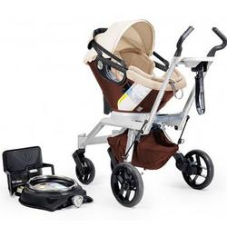 Orbit Baby Travel System Stroller and Car Seat G2,, Mocha/Khaki