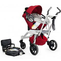Orbit Baby Travel System Stroller and Car Seat G2, Ruby/Slate