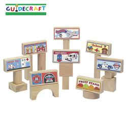 Guidecraft 3020 Block Toppers Set, 8pcs