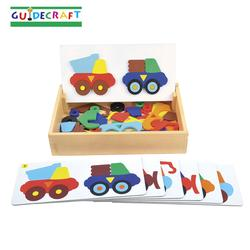 Guidecraft 5081 Construction Truck Sort and Match