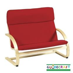Guidecraft   6401 Kiddie Couch, Red
