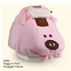 BabbaCo 11003 Babba Cover Snuggle Fleece, Piggy in Pink