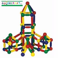 Guidecraft 8102 Magneatos 144 pcs.