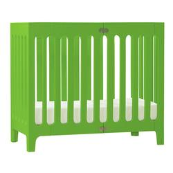 Bloom U10305-GG, Alma Urban Cot/Crib - Gala Green
