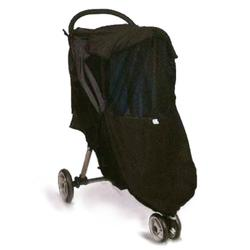 Protect-a-Bub 003008, Universal All Weather Shield Single Stroller - Black