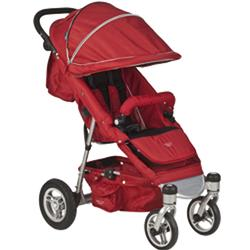 ValcoBaby QAD1045, QUAD Single Stroller, Cherry