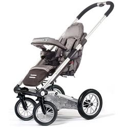 Mutsy 4RL&seatCAGRE 4Rider Light Single Strollers, Cargo Grey