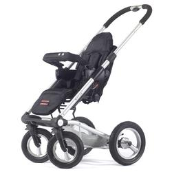 Mutsy, 4RSS&seatCABLK, 4Rider Single Strollers - Cargo Black