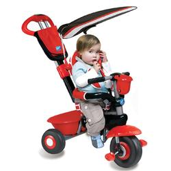 Smart Trike 1560511, Deluxe Baby to Toddler Tricycle -  Red