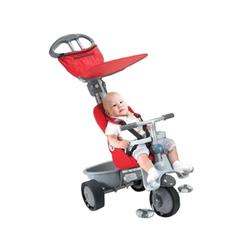 Smart Trike 1961900, 4 in 1 Smart Trike Recliner -  Red