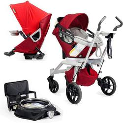 Orbit Baby Stroller Travel System G2 With Stroller Seat G2, Ruby/slate Picture