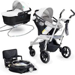 Orbit Baby Stroller Travel System G2 with Bassinet Cradle G2, Black/Slate