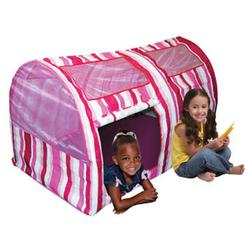 Bazoongi Kids BT-PST Pink Stripe Bed Tent