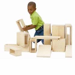 Guidecraft 97080 Jr Hollow Blocks